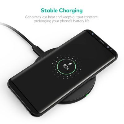 Deal: RAVPower Qi Wireless Charger For $8.49 W/Coupon