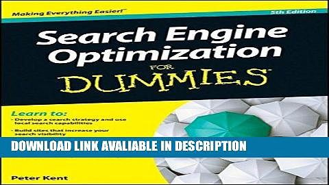 Pdf online Search Engine Optimization For Dummies Free Audiobook