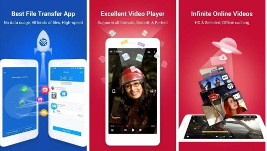 SHAREit for Android updated with some optimisation and UI enhancements