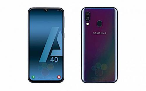 Galaxy A40 to only sort dual cameras on its back