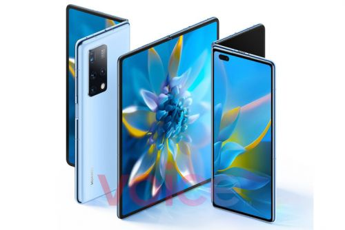 Huawei Mate X2 official images leak, show the whole phone in stunning detail