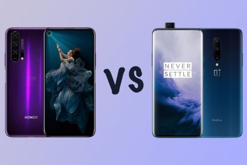 Honor 20 Pro vs OnePlus 7 Pro: Differences and features compared