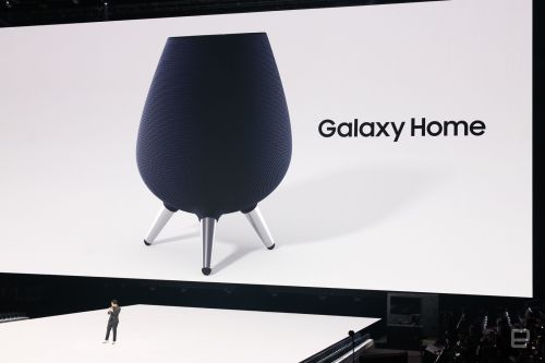 Galaxy Home is Samsung's Bixby-powered smart speaker