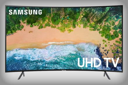 Time for a new TV? Grab the 55-inch Samsung curved 4K smart TV for $598