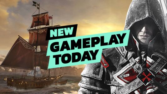 New Gameplay Today - Assassin's Creed Rogue Remastered