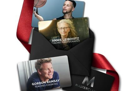 This MasterClass Bogo gets you classes from Gordon Ramsey, Helen Mirren, and more