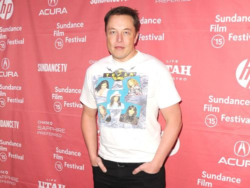 Elon Musk just posted a sensual Instagram picture with his tunnel-boring machine