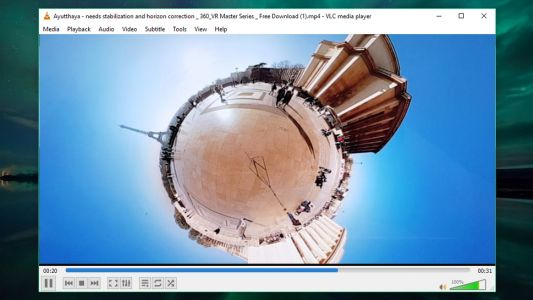 VLC Media Player now supports 360-degree video and resolutions up to 8K