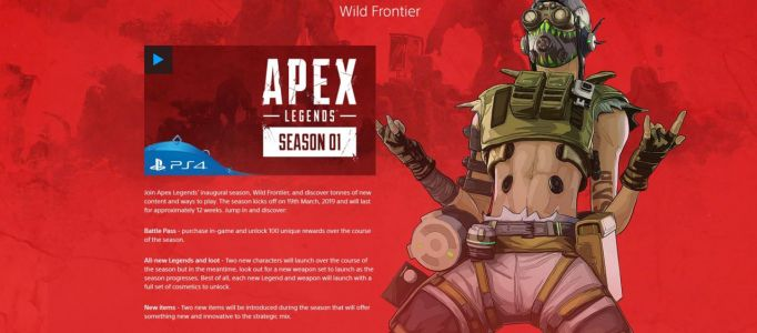 Second New Apex Legends Character Is Coming In Season 1, According To Sony