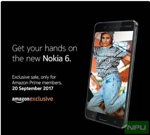Nokia 6 Amazon prime exclusive sale now on. Anyone can buy it tomorrow in India
