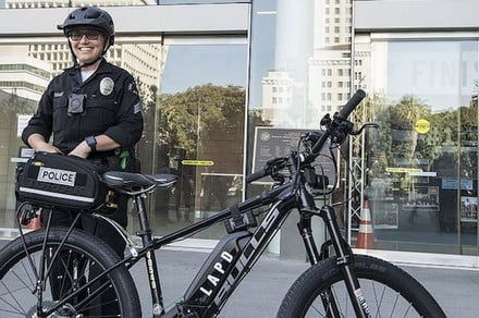 The LAPD does its part to cut down on smog, adds ebikes to its patrol fleet