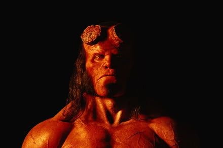 'Stranger Things' actor David Harbour goes full demon in first 'Hellboy' photo