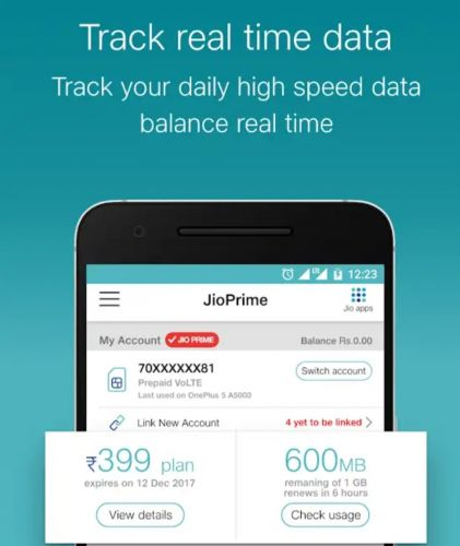 MyJio for Android updated with some interesting new features