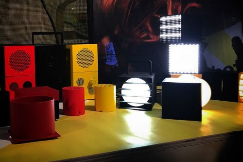 Ikea shares early look at its portable party collection with Teenage Engineering