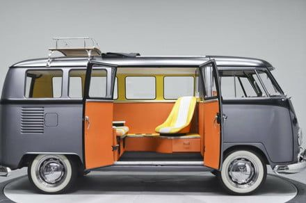 Forget the DeLorean: Someone built a time machine in a VW bus