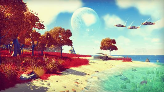 No Man's Sky 'Visions' update enhances exploration and adds rainbows