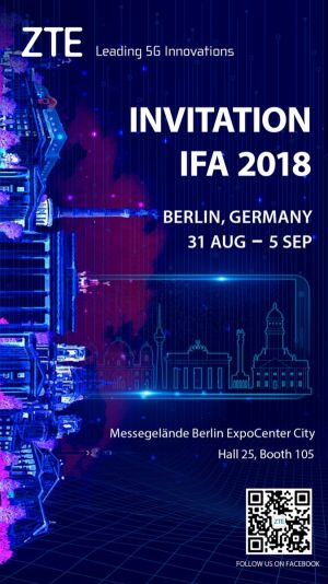 ZTE Hints At Axon 9 Unveiling During IFA 2018