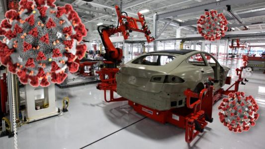 Tesla cuts wages and furloughs staff - still aims to reopen in May