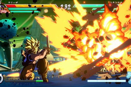 Someone played competitive 'Dragon Ball FighterZ' with a 'Rock Band' piano