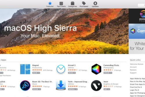 How to install macOS High Sierra