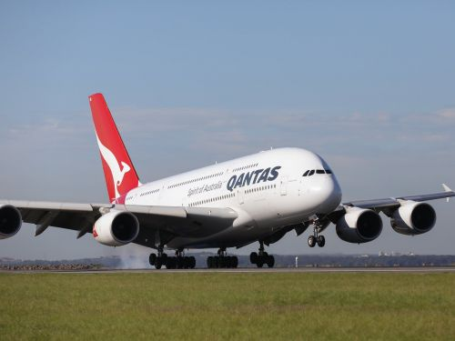 A Qantas Airbus A380 took a scary nose dive over the Pacific Ocean after flying through turbulence caused by another A380