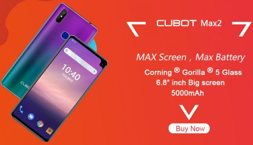 Super discounts at CUBOT's Aliexpress store for a Fan Festival