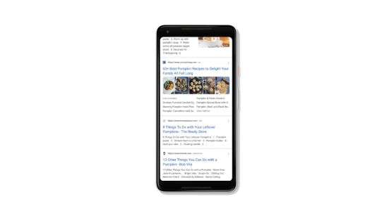 Google search introduces continuous scrolling on mobile devices