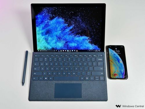 Yes, the existing Surface Pro Type Cover works with the Surface Pro 6