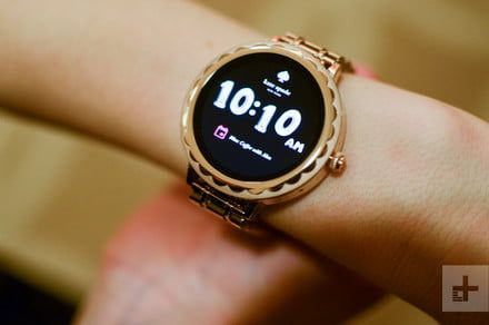 Amazon drops a sweet deal on the Kate Spade Scallop smartwatch for women