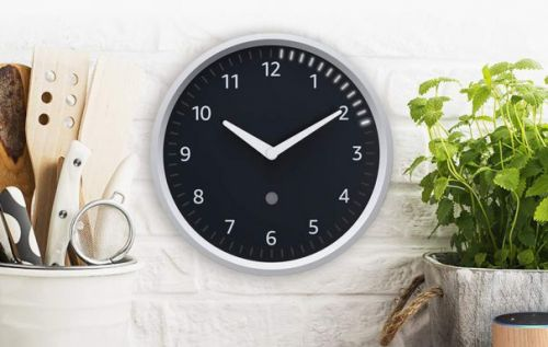 Amazon Echo Wall Clock with Alexa timer support is now available