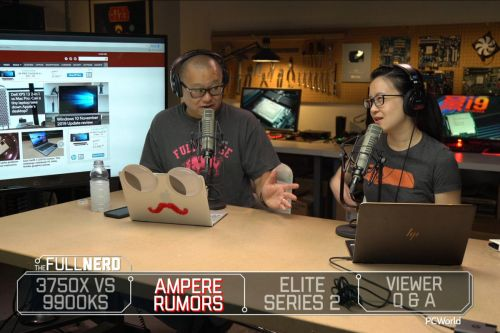 The Full Nerd ep. 111: Ryzen 7 3750X leak, Microsoft Elite Series 2, wait for Nvidia Ampere?