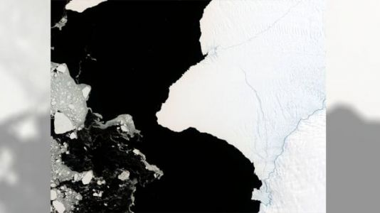 Giant Iceberg Twice the Size of NYC About to Break Off Antarctic Ice Shelf