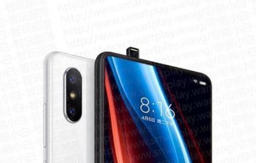 Xiaomi Mi MIX 3 Rendering Shows No Chin At The Bottom