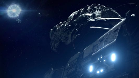 A Giant Alien Space Creature is Being Hunted Down in This Trailer For Sci-Fi Film BEYOND WHITE SPACE