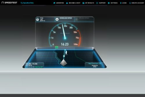 How to test your home Internet speed