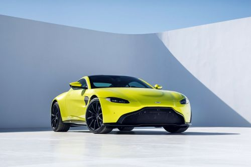 Aston Martin shows off a new Vantage