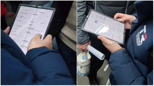 Xiaomi's Foldable Smartphone Appears In The Wild