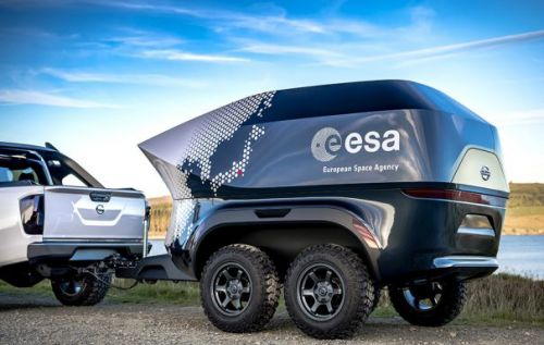 ESA and Nissan team to build off-road observatory for astronomers