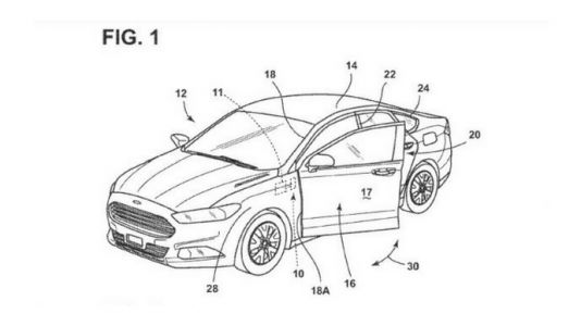 Ford Patents Car Doors That Open When You Tell Them To