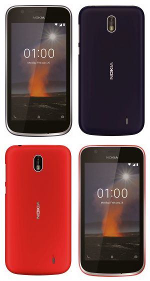 Good quality renders of the Nokia 1 leaked online