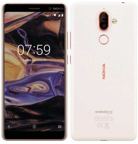 Nokia 7 Plus good-quality renders leak. To be the first Android One Nokia smartphone