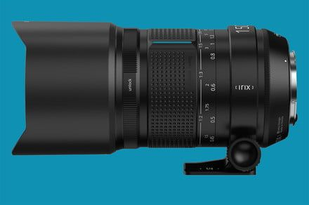 Irix gets up close with the 150mm Macro in new lightweight Dragonfly finish