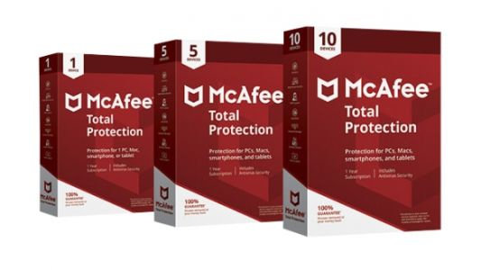 Save $80 on a year of McAfee Total Protection antivirus this Christmas