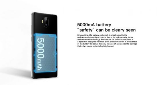 The AllCall S1 Sports Double Protection for the Large 5000mAh Battery