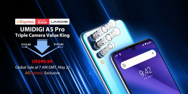 UMIDIGI Fan Festival has the UMIDIGI A5 Pro for an unbeatable $99.99 price