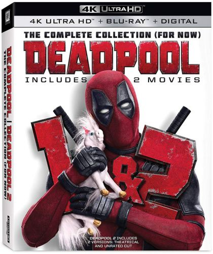 'Deadpool 1 + 2 Complete Collection' Blu-ray and 4K Set Pre-Order at Amazon