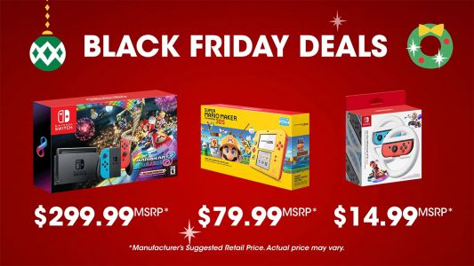 Nintendo Switch Black Friday Bundle Deal Announced, Includes A Great Game
