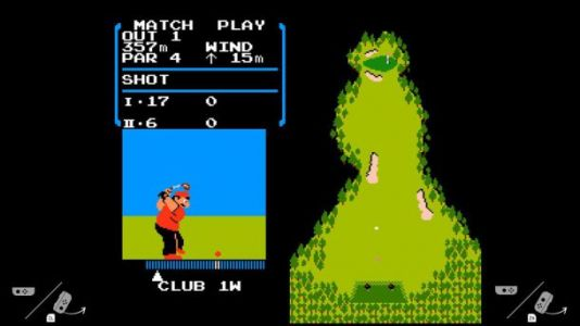 Your Nintendo Switch is apparently hiding an NES emulator and a copy of 'Golf'