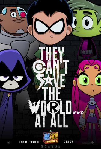 TEEN TITANS GO! TO THE MOVIES Gets a JUSTICE LEAGUE-Style Movie Poster