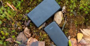 Testing Aukey's PB-Y7 10,000mAh and PB-T18 26,500mAh portable batteries on a five-day trip